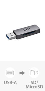 uni sd card reader