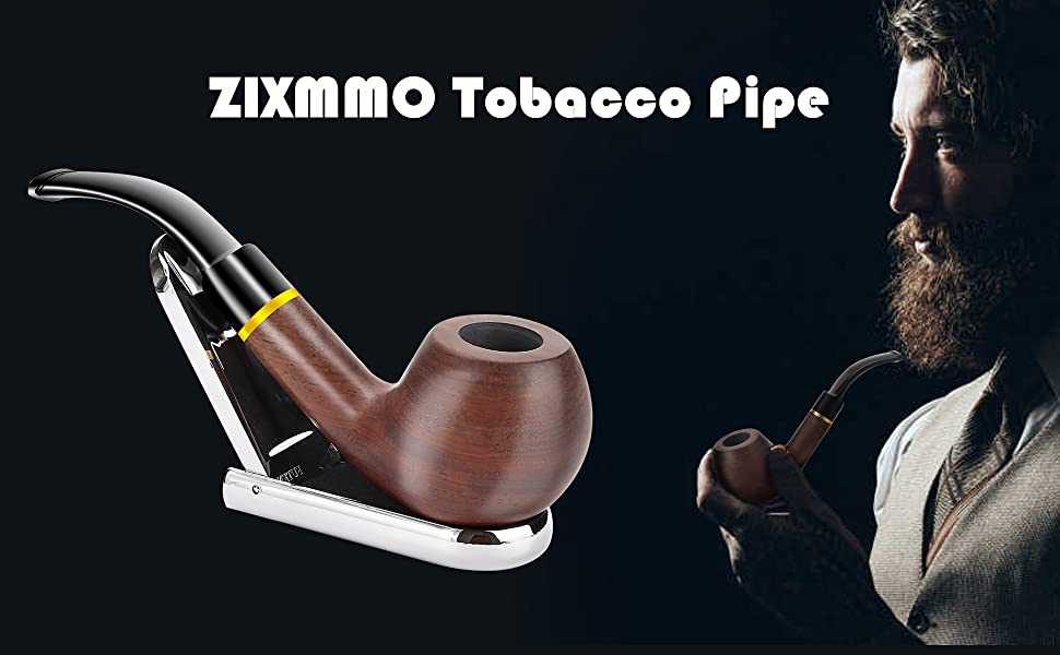 Mephistopheles Tobacco Pipe Handcrafted Ebony Smoking Pipe Exclusive Design Engraved Smoking Pipe Smoking Bowl. Ebony Smoking Pipes