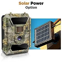 solar powered trail cameras 3G 4G LTE