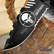 Alientech Punisher Blade Partially Serrated