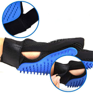 Pet Grooming Glove & Pet Hair Remover Brush