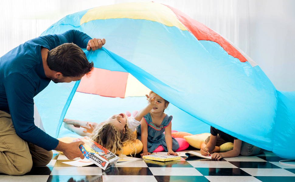 AIR FORT is a fun play tent for the whole family