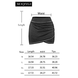skorts skirts for women with pockets