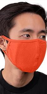 auline collection face mask orange