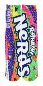 Rainbow Nerds Socks