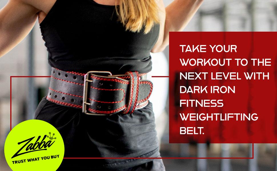 Dark Iron Fitness Weightlifting Belt