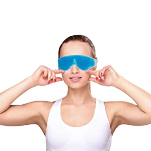 healthmax eye mask gel cool hot relaxing relax family pain headach