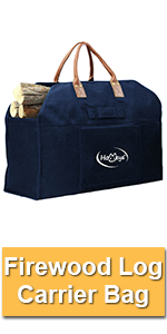 Firewood Log Carrier Bag