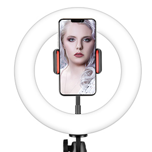 Selfie Ring Light with Adjustable Tripod Stand