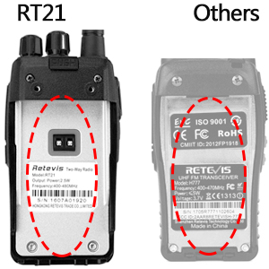 2 way radios rechargeable