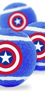 Captain America Tennis Balls
