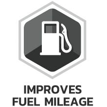 Improves Fuel Mileage
