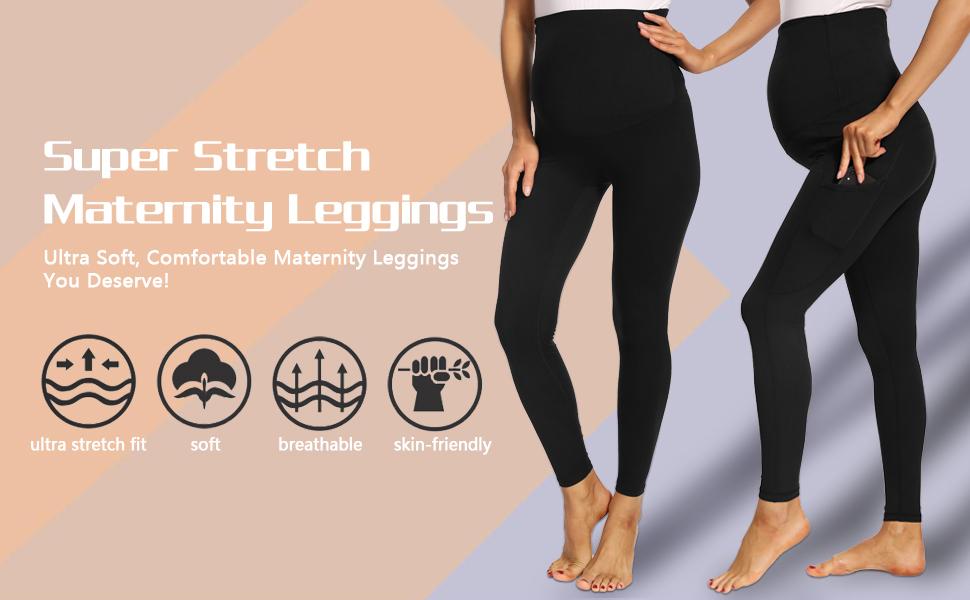 maternity leggings over belly maternity yoga pants for women maternity leggings foucome