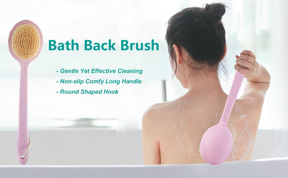 bath back brush