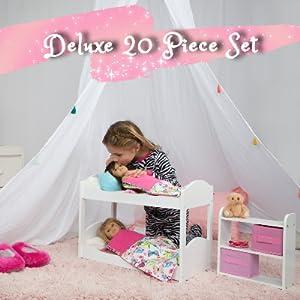 20 piece doll set