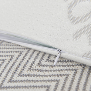 TWO BAMBOO WASHABLE COVERS FOR CHANGING