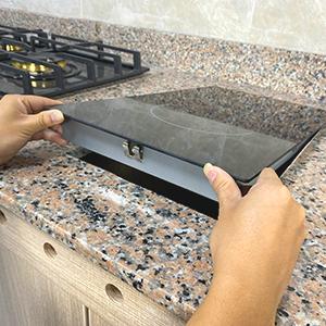 easy installation plug-in electric hob