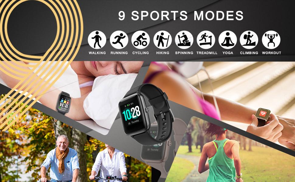 9 Sport Modes