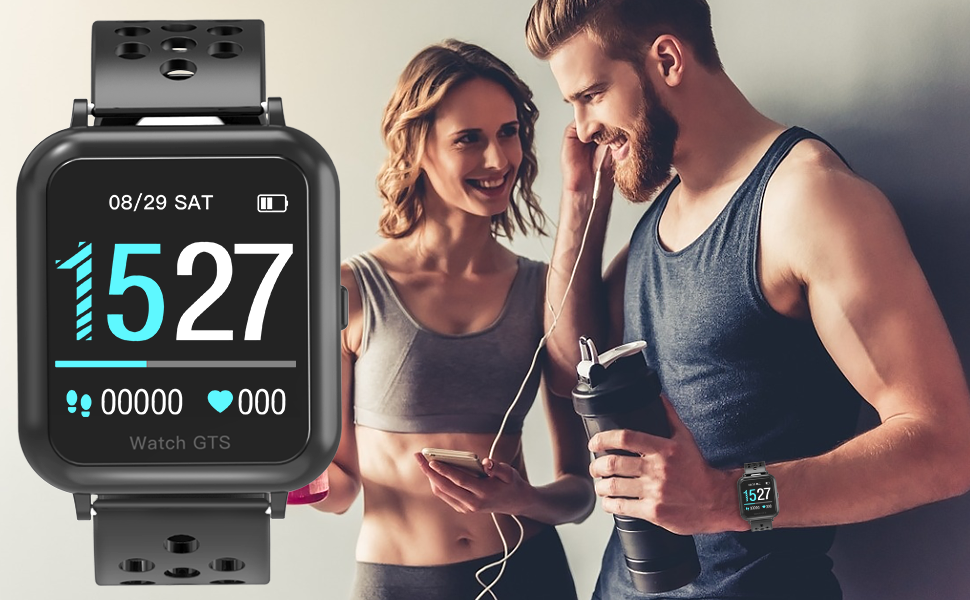 WAKYME SMART FITNESS TRACKERkeep  your active and manitain a healthy lifestyle