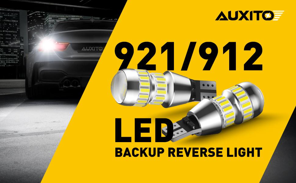 AUXITO 921 912 LED Backup Reverse Light Bulbs