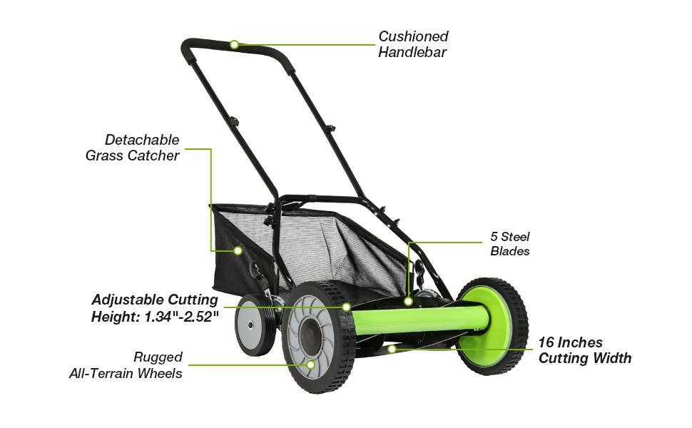 manual mower