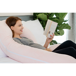 c shaped pillow