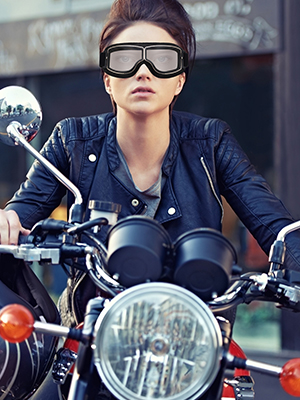 motorcycle goggles helmet