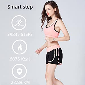 smart watch compatible android pedometer watch fitness tracker health activity tracker step counter