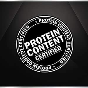 Protein Content Certified