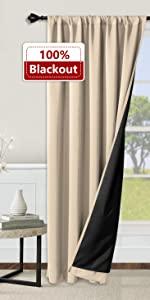 rod pocket curtains for living room