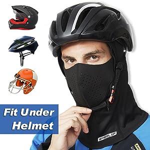 fit under helmet