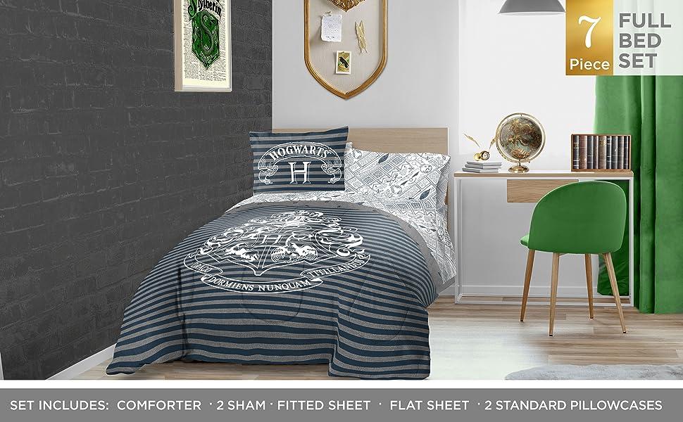 Jay Franco Harry Potter Draco Dormiens Bed Set Full