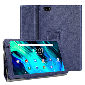 Tablet with case