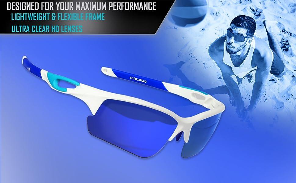 beach volleyball baseball polarized sports sunglasses for running softball biking