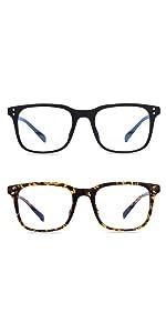 Blue Light Glasses Square Nerd