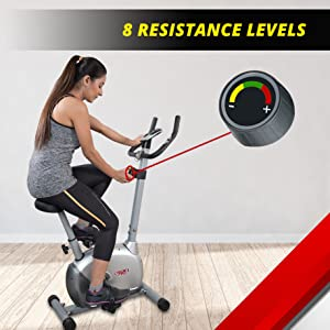 intensity resistance magnetic bike