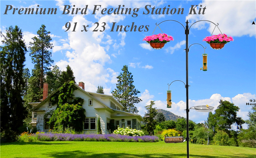Wild Bird Feeding Station Hanging for Feeders Attracting Birds