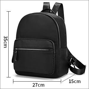 ladies rucksack backpack small for shopping school   bags backpacks black