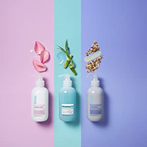 image of cleansers with their active ingredients