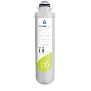 Sedimentfilter actieve kool granulaat niveau 1 filterwissel 6 maanden