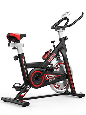 Cyclette Indoor 8KG Flywheel Workout Bike Indoor Cycling Bike for Home Cardio Workout Bike Training Suszian Cyclette Indoor stazionaria Super Silent Cyclette