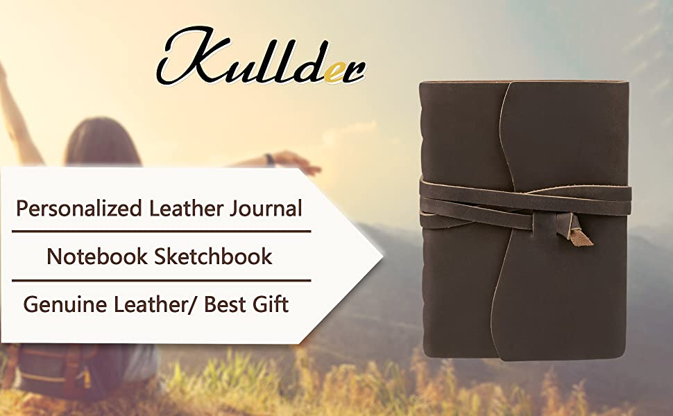 Personalized Handmade Vintage Leather Journal/Notebook
