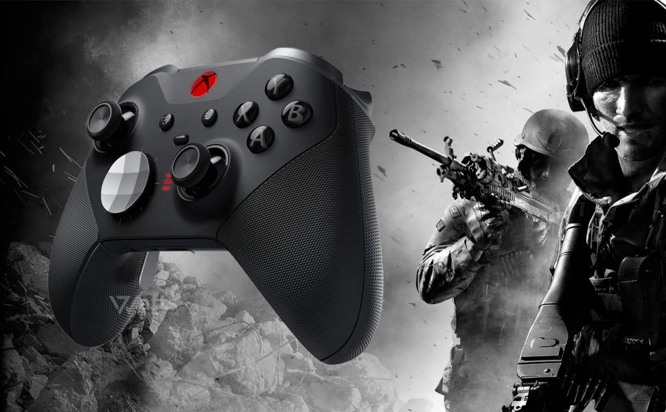 One Xbox Elite Series 2 X S Modded Mod Pro rapid fire Controller Wireless 7 Watts PC gaming COD PS5