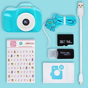 Kids Camera Package List