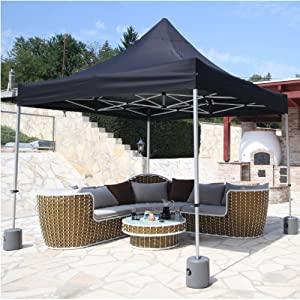 /Ø 12 mm Lot de 4 piquets de tente 38 cm de long et extr/êmement r/ésistant au sol ancrage au sol
