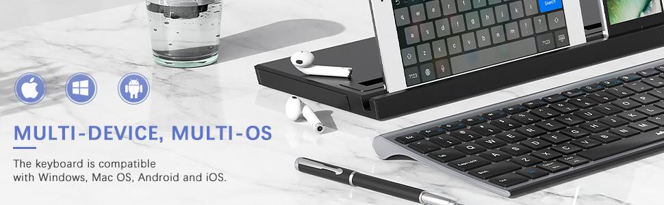 multi device wireless bluetooth keyboard full size slim space gray 1219 (3)