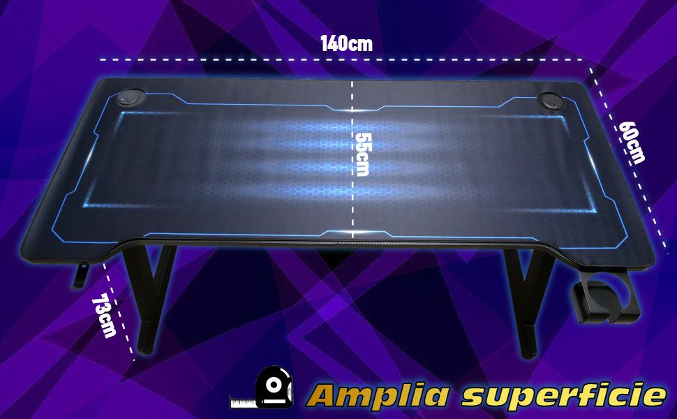 mesa gaming, mesa para ordenador, mesa para ps5, mesa de juego, mesa para ordenador, mesa gaming