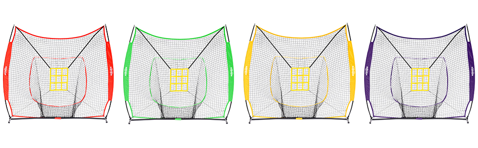team color baseball net