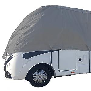LxlxH 8.00x2.30x2.60m HBCOLLECTION Housse 4 Saisons pour Camping-Car profil/é