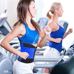 Midjetränarbälte för gym